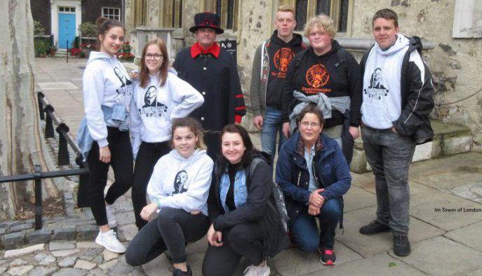 Zehntklässler besuchen London