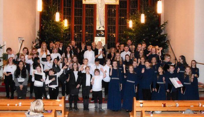 Konzert mit lettischen Schülern